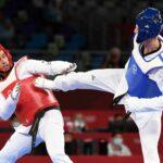 Tongas Fahnenträger Taufatofua hat auch bei Niederlage Spaß