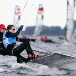 Start mit Crash für Seglerinnen Lutz/Beucke