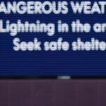 Gewitterwarnung: Golfturnier erneut unterbrochen